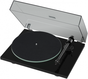 Gramofon - Pro-Ject Audio Systems T1 BT Czarne piano