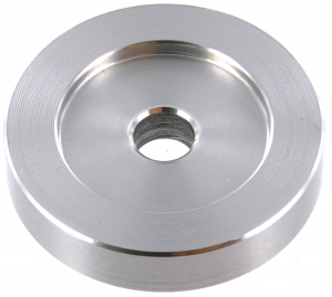 Aluminiowy adapter do singli - Tonar 45 RPM