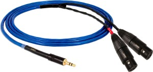 Kabel 2xXLR - jack 3,5mm - Nordost Blue Heaven iKable 2m