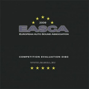 Płyta CD - EASCA / Stockfisch - Competition Evaluation Disc