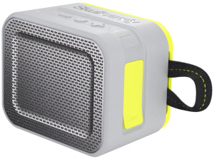 Głośnik Bluetooth - SkullCandy Barricade Gray/Hot Lime
