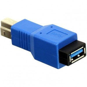 Adapter USB 3.0 gn.A -> wtyk B - Lindy 71274